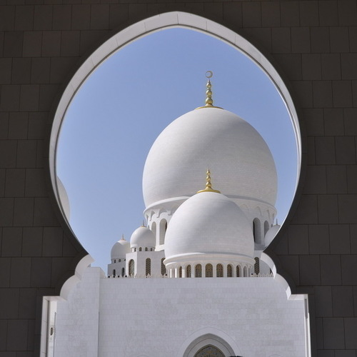 Sheikh Zayed Grand Mosque.<br/> Made with love